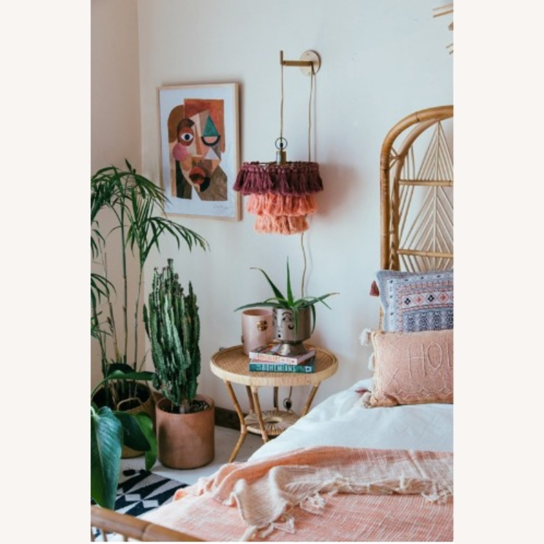 Selamat Designs Libra Side Table in Natural Rattan - image-3