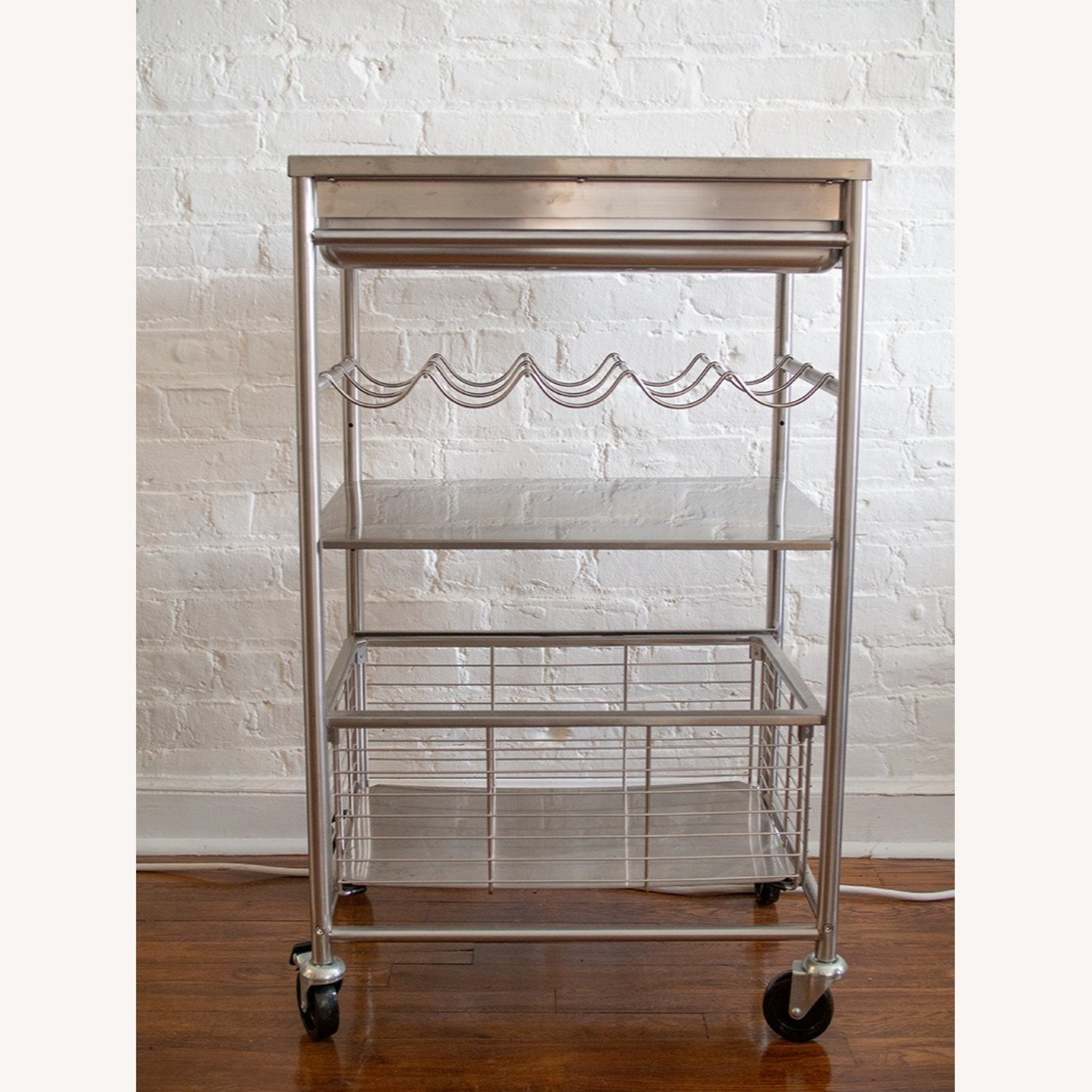 Ikea Grundtal Kitchen Bar Cart Aptdeco