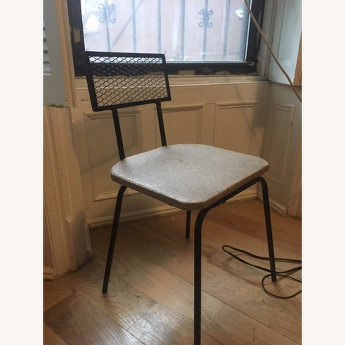 Used Vintage Wrought Iron Desk Chair for sale on AptDeco