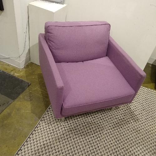 Used EQ3 Plateau Foam Lounge Chair for sale on AptDeco