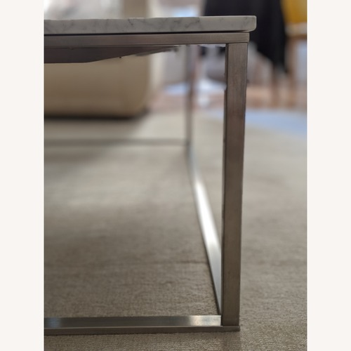 Blu Dot Minimalista Marble Top Coffee Table