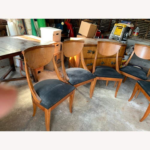 Bloomingdale's Italian Dining Table w/ 5 Chairs