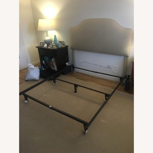 Ballard Designs Queen Bed Frame w/ Camden Headboard