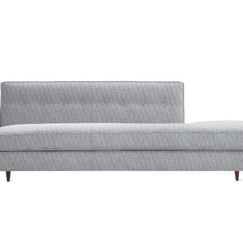 Design Within Reach Mid Century Style Chaise Longue