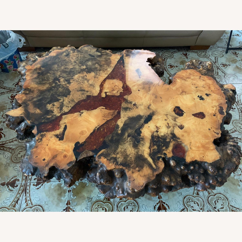 Vintage Redwood Coffee Table - image-2