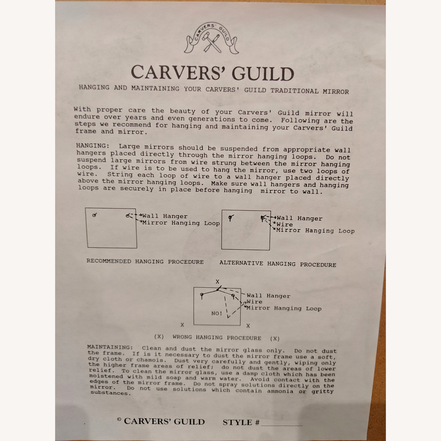 Carvers' Guild Fontenoy Mirror - image-6