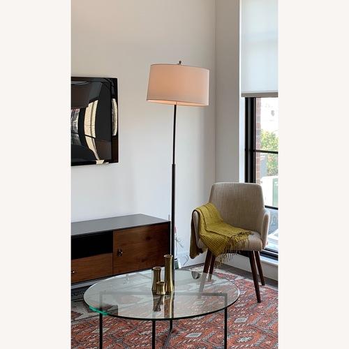 Crate & Barrel Dexter Arc Floor Lamp