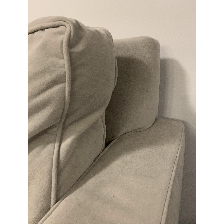 West Elm Dove Grey Henry Sofa - image-8