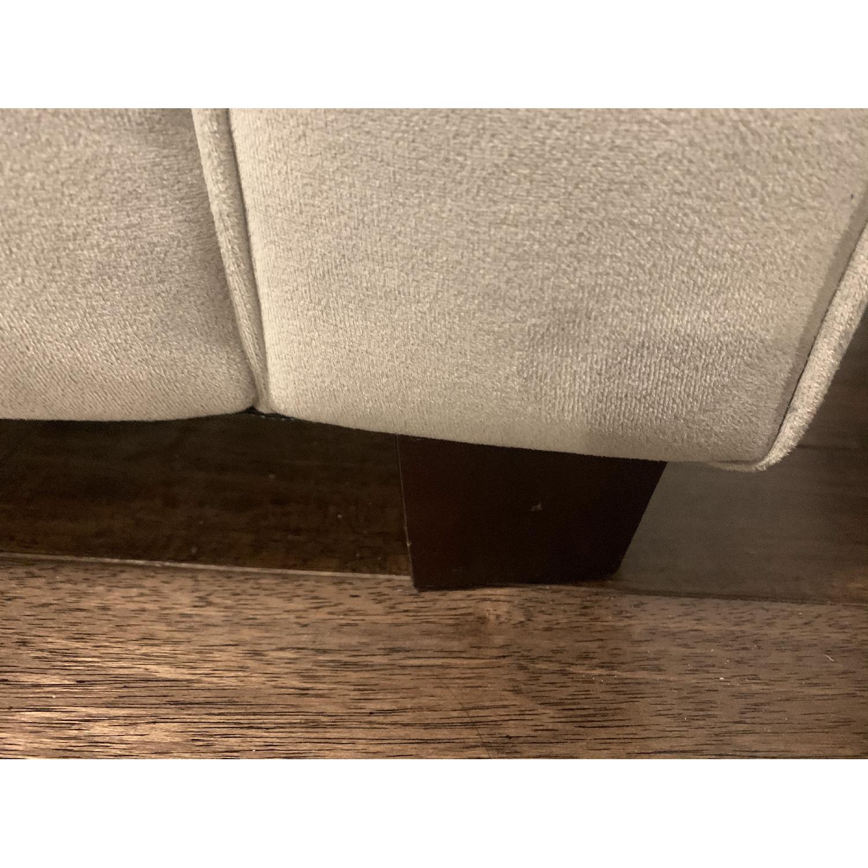 West Elm Dove Grey Henry Sofa - image-10