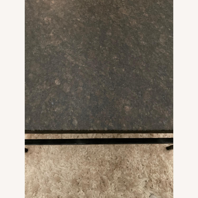 Crate & Barrel Granite Bastille Coffee Table