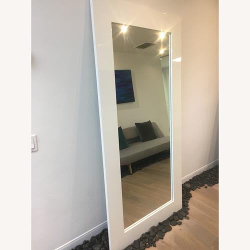Modani Modern Large White Mirror