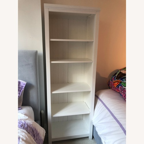 Pottery Barn Beadboard White Bookcase