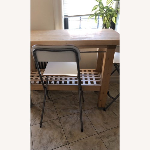 Ikea Groland Bar Table w/ 2 Bar Stools