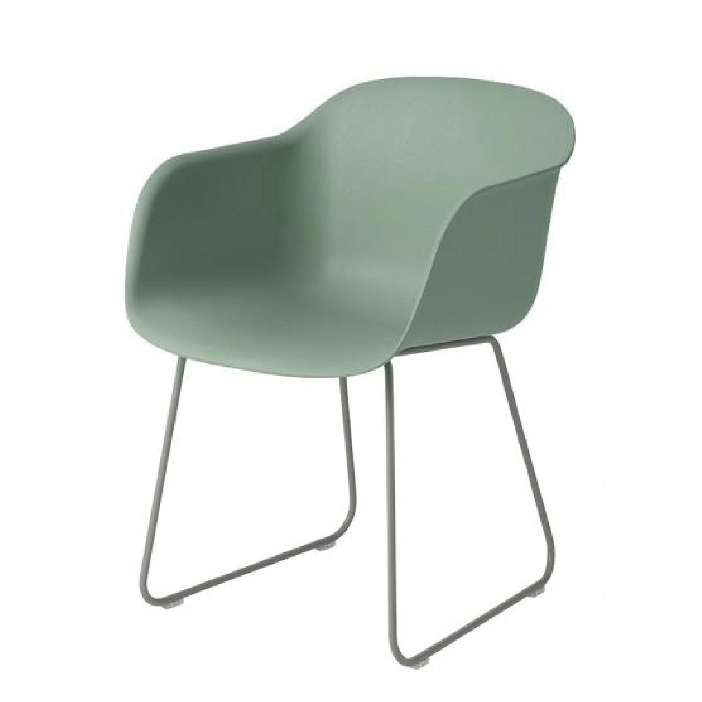 Muuto Fiber Armchair w/ Sled Base - image-0