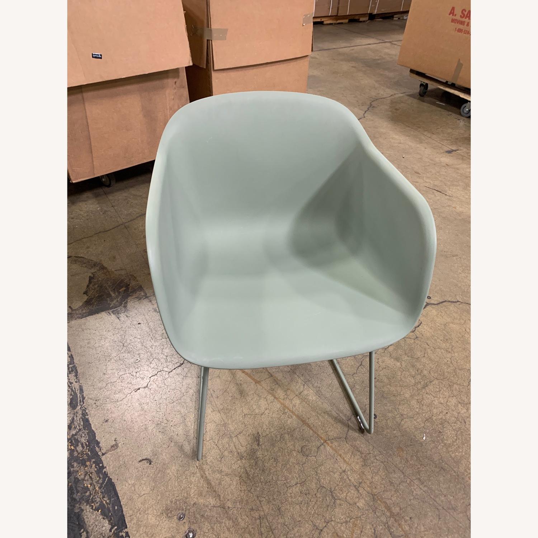 Muuto Fiber Armchair w/ Sled Base - image-1