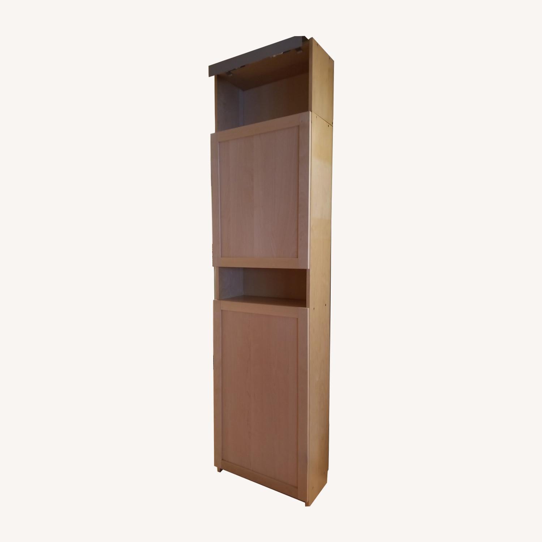Ikea Bookcase W Doors