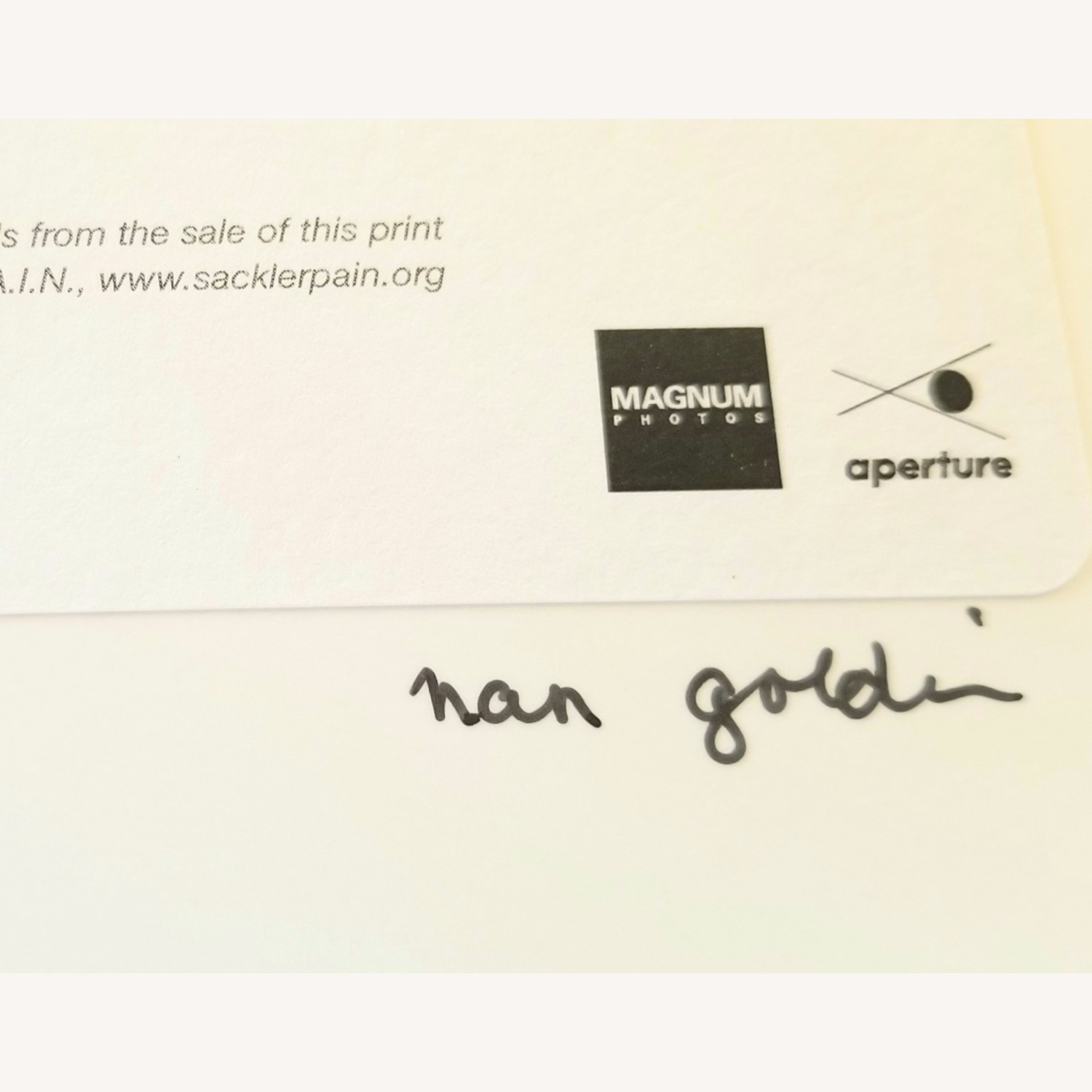 Nan Goldin Signed Limited Edition Photograph - image-3