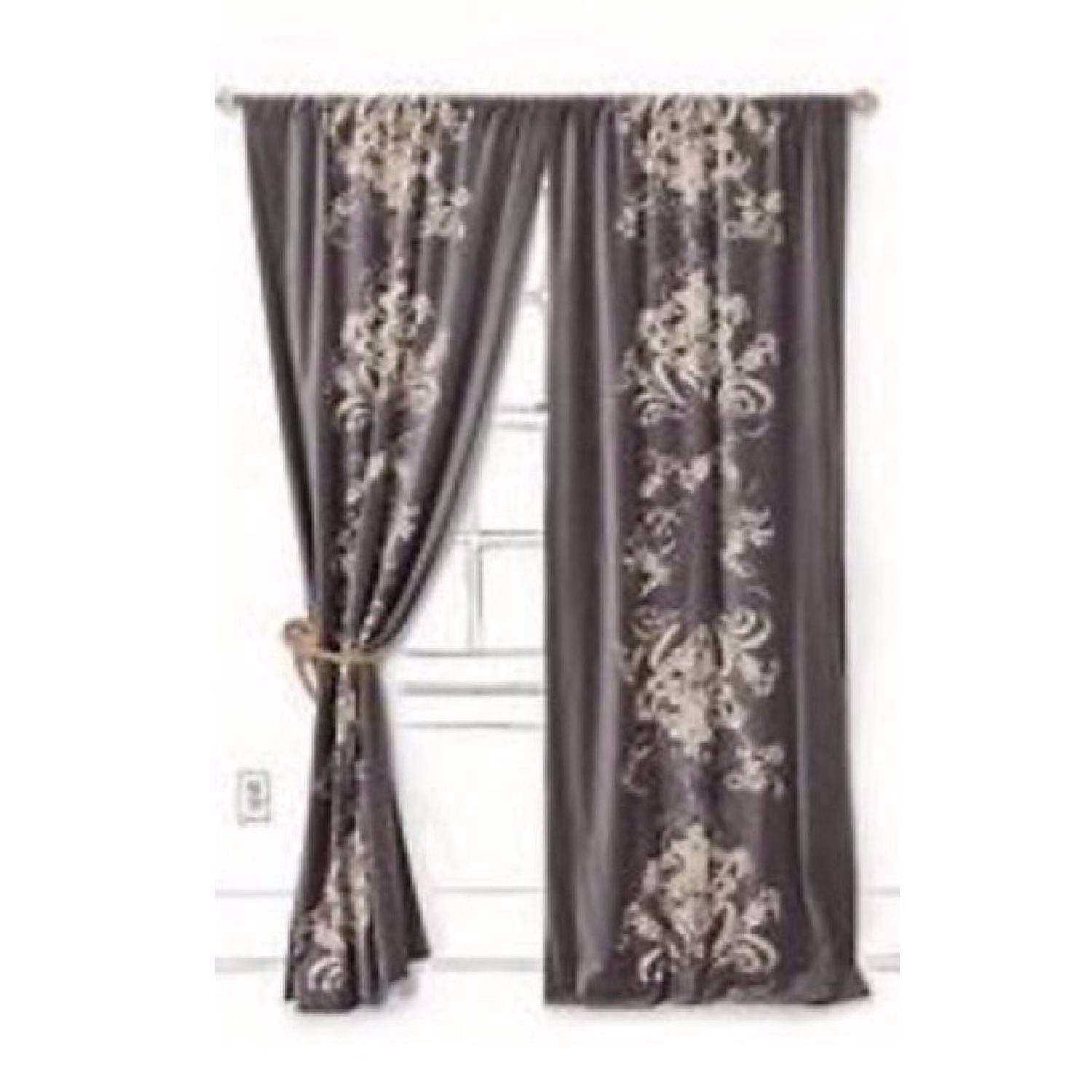 Anthropologie Viceroy Velvet Curtains - image-1