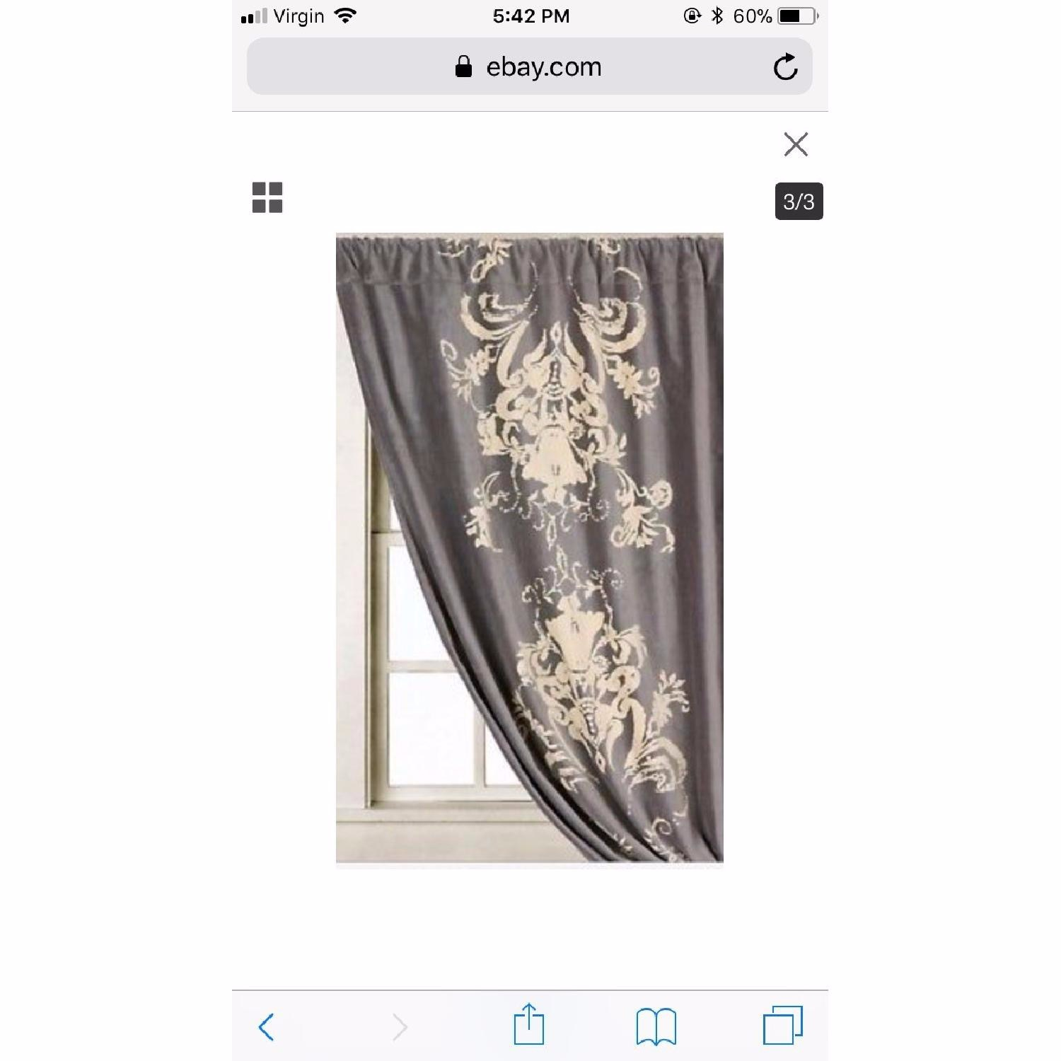 Anthropologie Viceroy Velvet Curtains - image-2