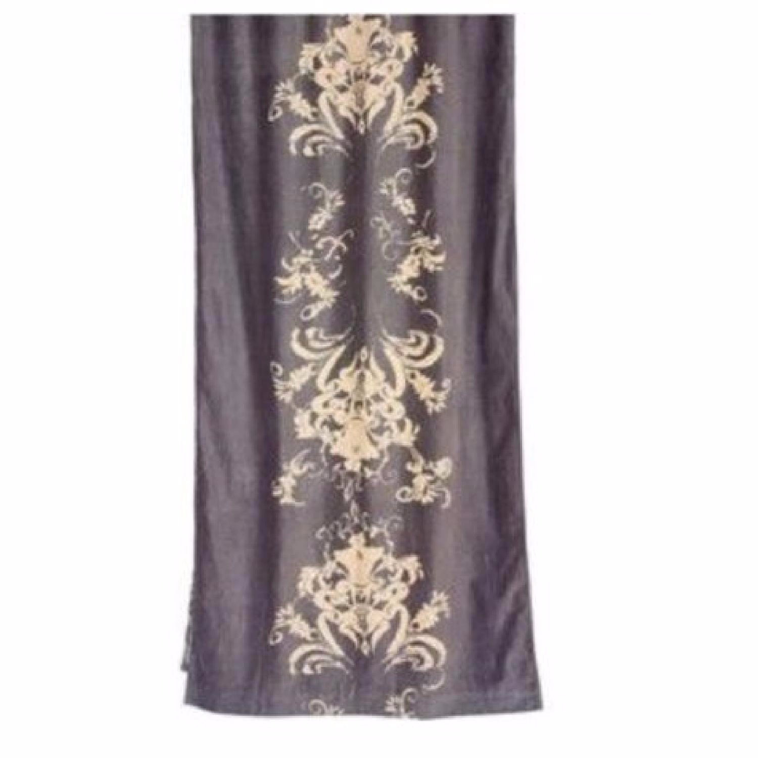 Anthropologie Viceroy Velvet Curtains - image-0