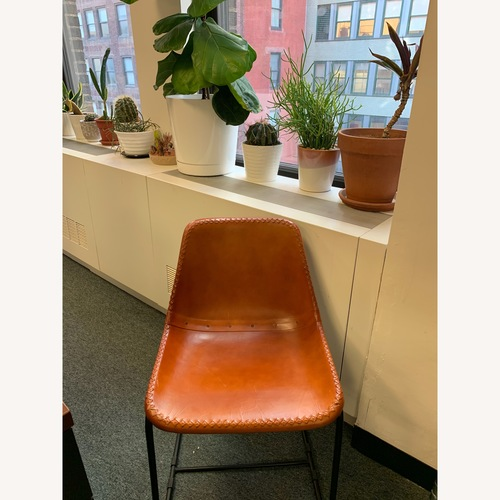 CB2 Exclusive Roadhouse Leather Chairs