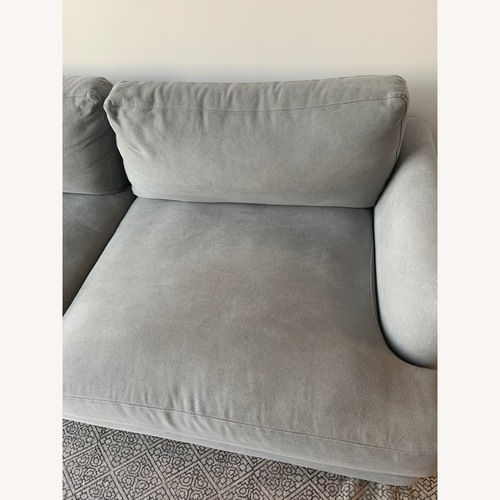 West Elm Feather Haven Sofa
