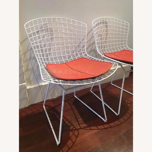 Knoll Bertoia Side Chairs w/ Cushion