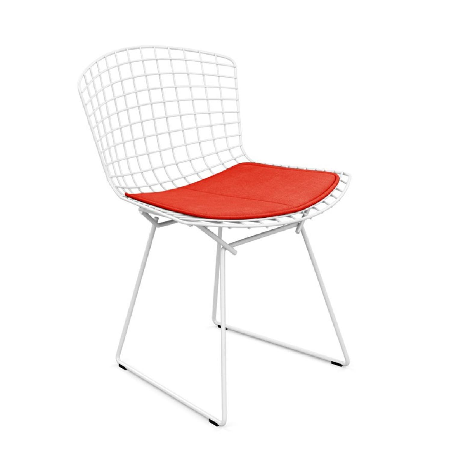 Knoll Bertoia Side Chairs w/ Cushion