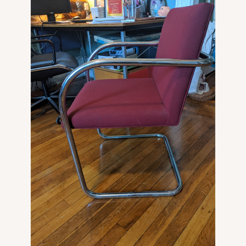 Mies Van Der Rohe Tubular Chrome Brno Chair - image-3