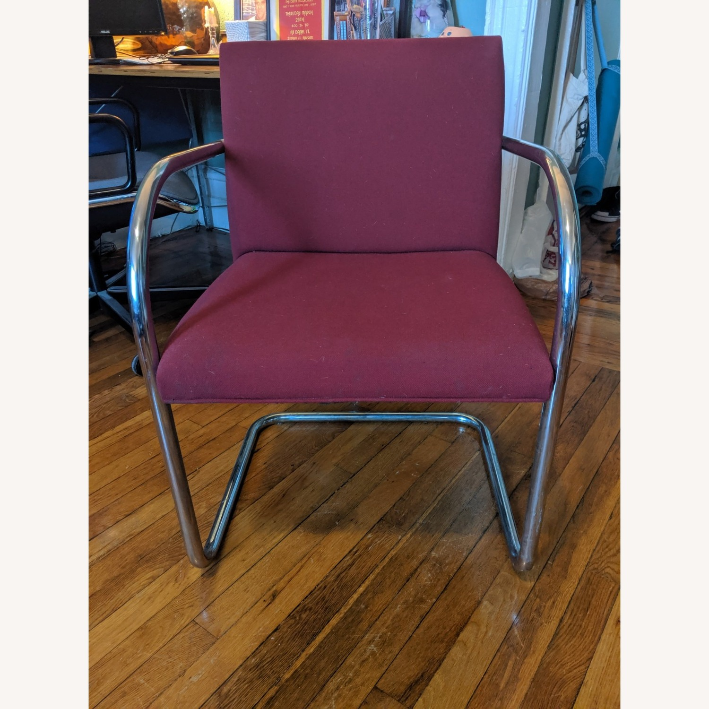 Mies Van Der Rohe Tubular Chrome Brno Chair - image-2