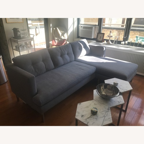 West Elm Revisable Sectional Couch