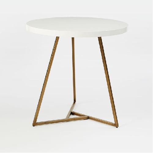 West Elm Lacquer Top Cafe Table