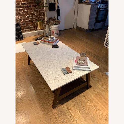 West Elm Quartz Coffee Table