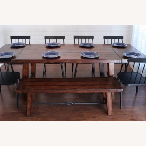 Pottery Barn Dining Industrial style Bench