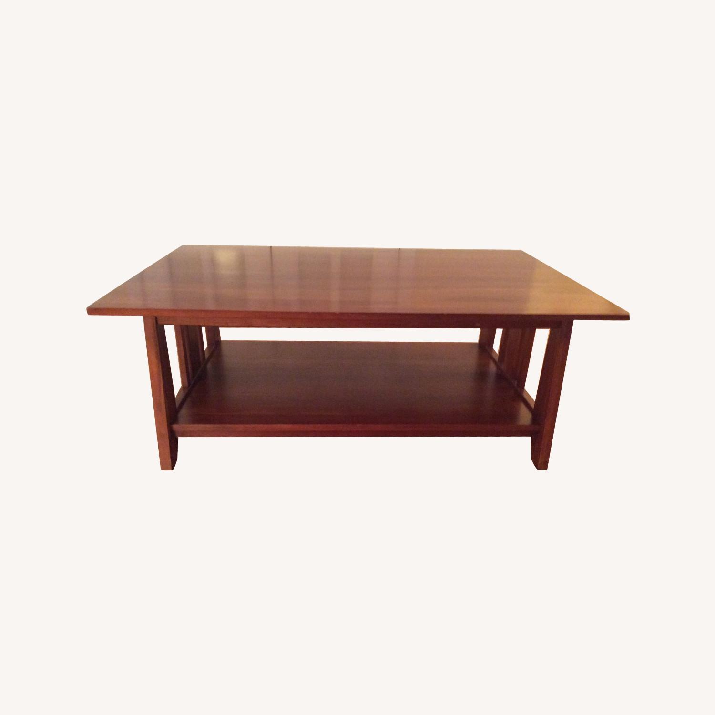 Ethan Allen Mission Coffee Table Aptdeco