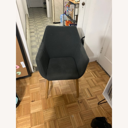 Urban Outfitters Grey Accent Chair