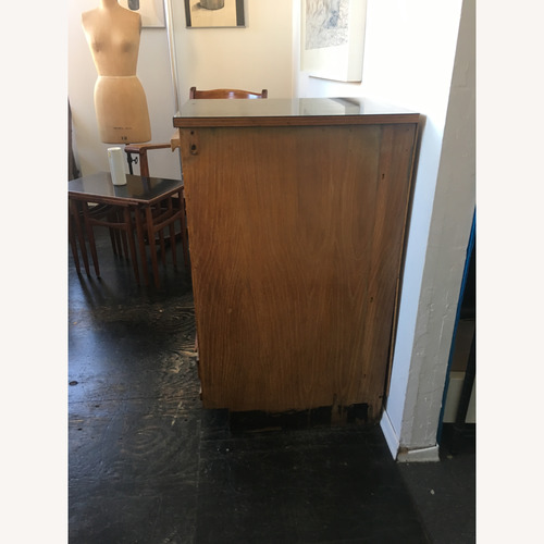 Used Vintage Wooden File Drawers Cabinet for sale on AptDeco