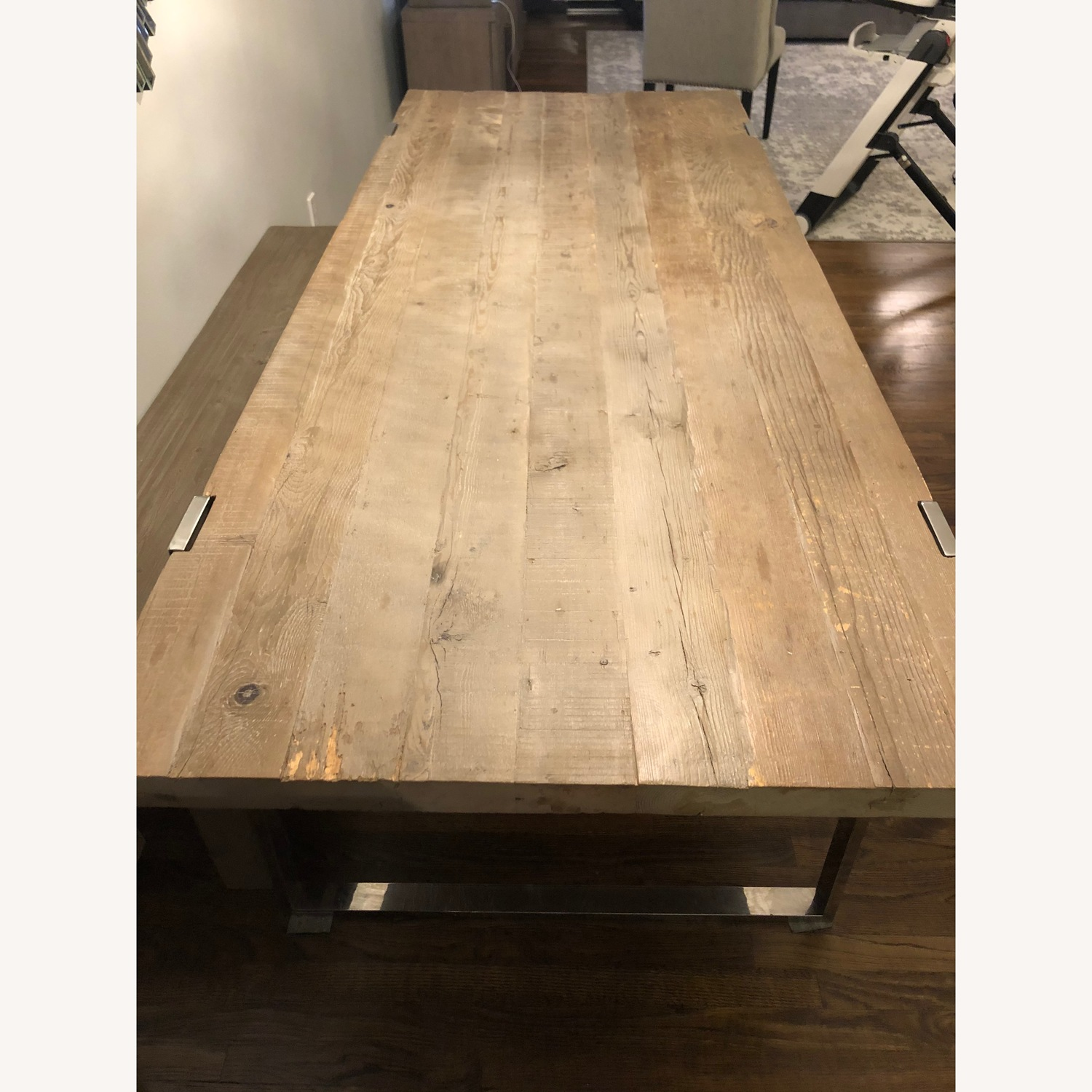 Lillian August Gray Dining Table