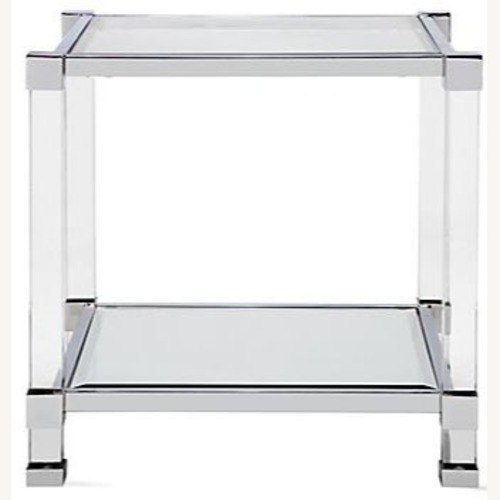 Z Gallerie Side Table