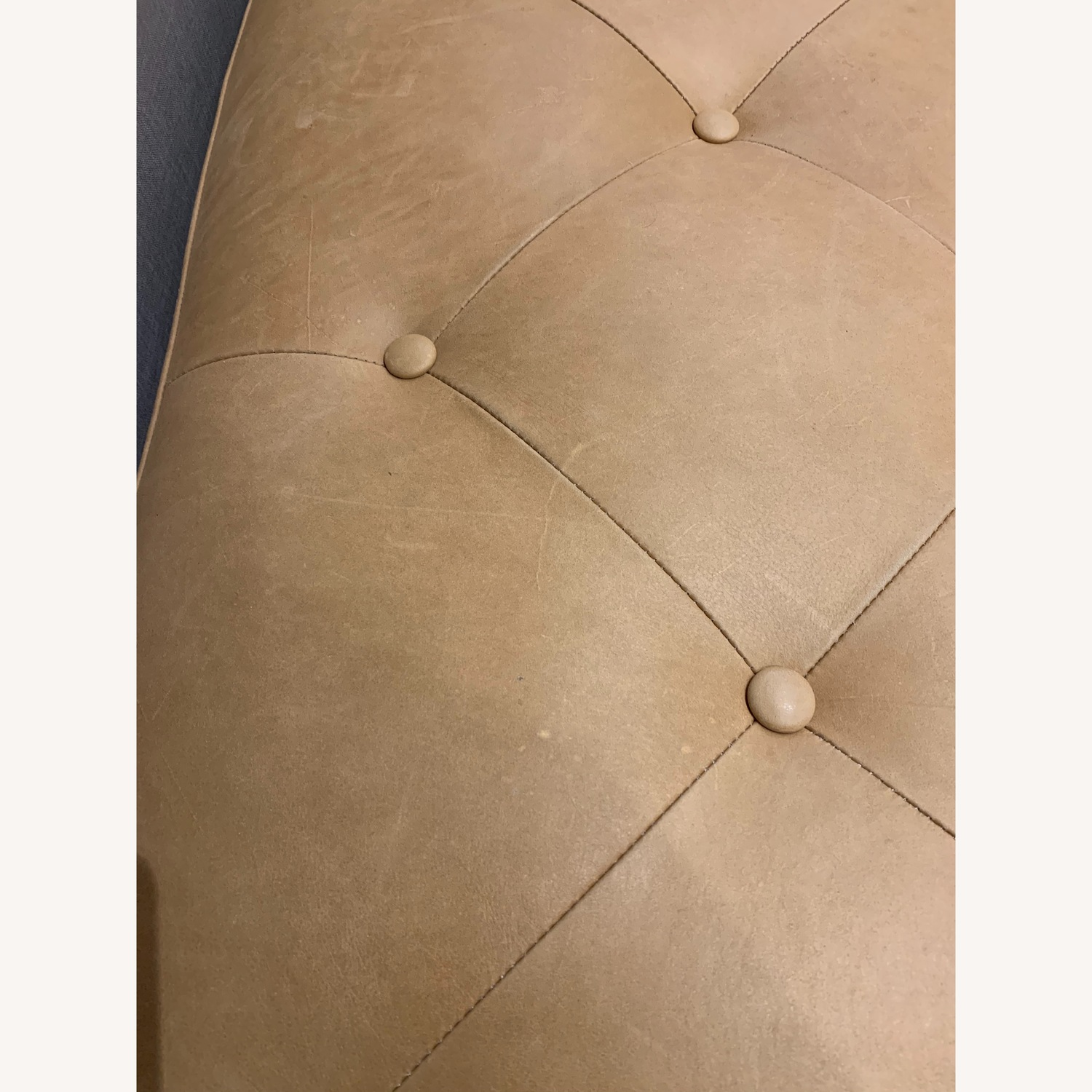 Article Tablet Charme Blonde Rectangular Ottoman - image-2