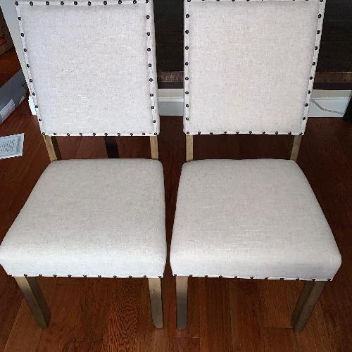 Used Crafton Upholstered Dining Chairs for sale on AptDeco