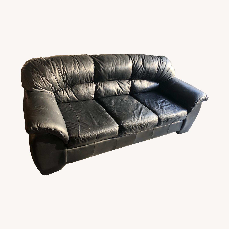 Marvelous Ethan Allen Black Leather Sofa Aptdeco Machost Co Dining Chair Design Ideas Machostcouk