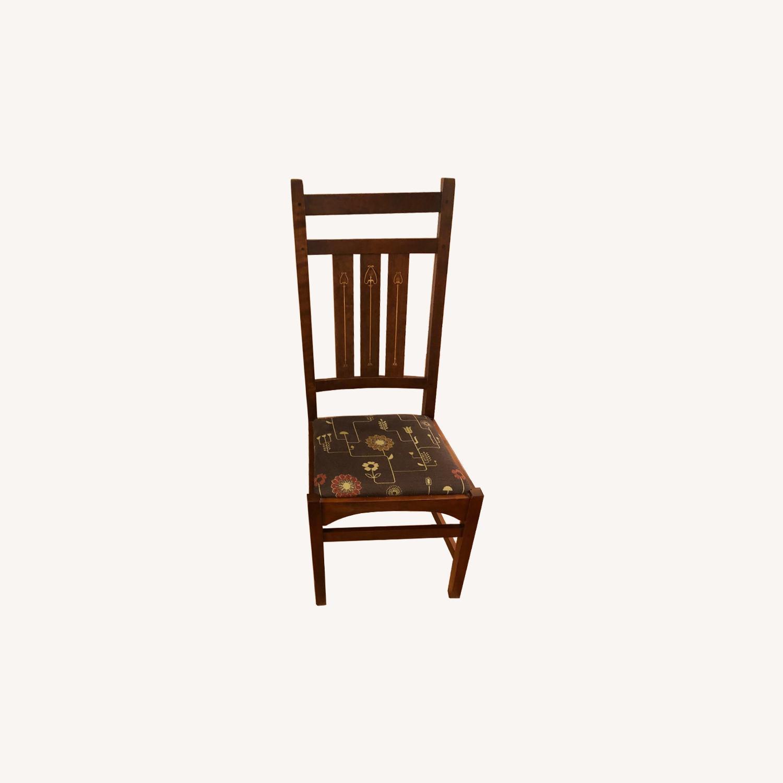 Stickley Audi & Co Harvey Ellis Dining Chairs - image-0