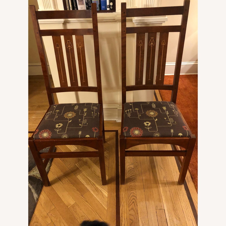 Stickley Audi & Co Harvey Ellis Dining Chairs - image-1