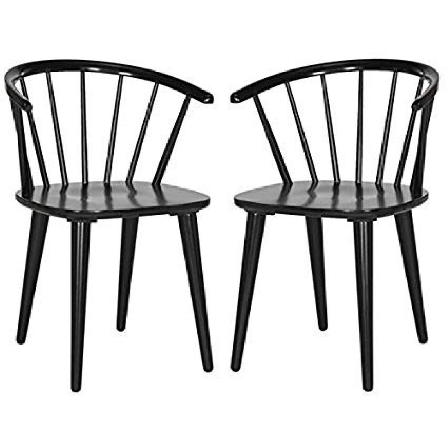 Safavieh Scandinavian Wood Dining Chairs