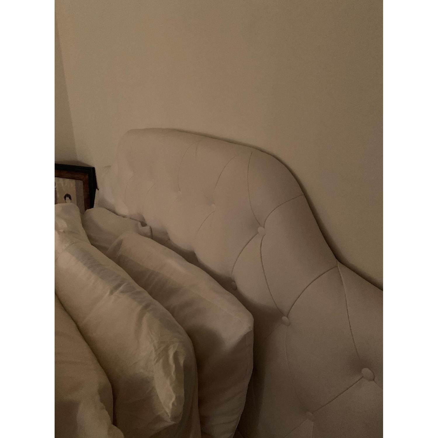 DHP Queen Faux Leather Tufted Headboard - image-6