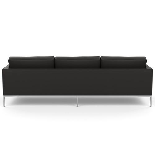 Florence Knoll Leather Sofa