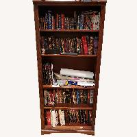 Glastonbury Cherry Bookcase