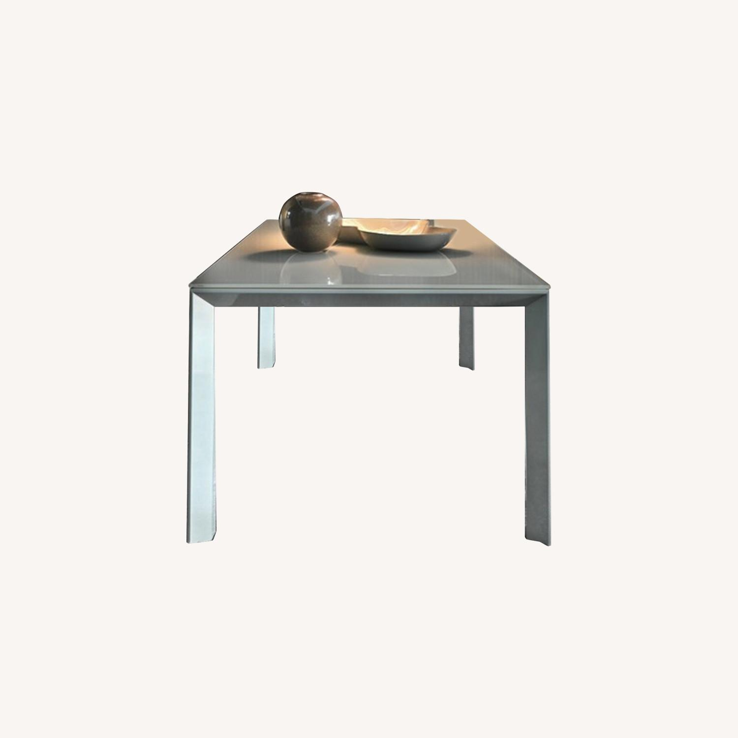 Calligaris Italian Custom Tempered Table - image-0