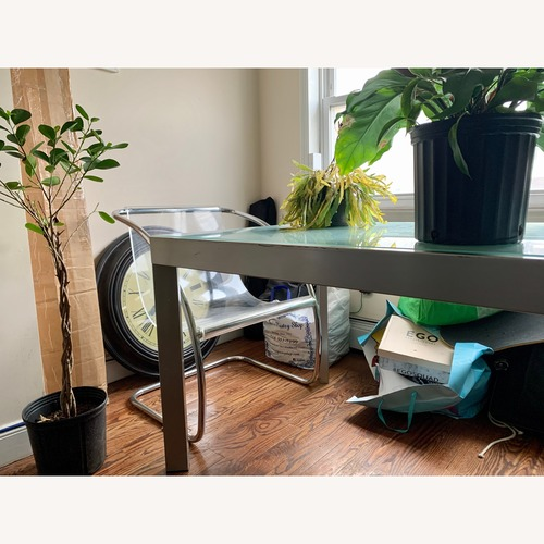 Calligaris Italian Custom Tempered Table